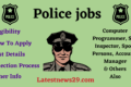 Police Jobs 2021 Opening – Constable, Inspector & other Posts – Check Now