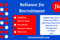 Reliance Jio Recruitment 2021 – Apply Online for Various Posts