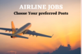 Airline jobs – Cabin crew, Ground staff, Airport manager and other Best Posts