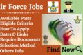 Air Force Jobs – Eligibility, Notification And Latest Details Available Here