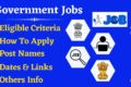 Government Jobs – Latest Update Available Here